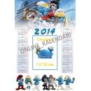 Детски еднолистов календар 4